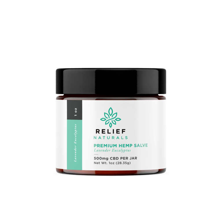 Salve 500 mg With Lavender And Eucalyptus